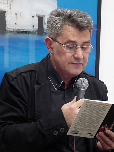 """Predstavljanje knjige pripovedaka """"Ataka na Itaku"""", Kluturni centar Beograda, 7. oktobar 2015."""